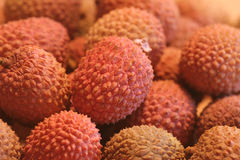 Lychee. Close-up Stock photo Royalty Free Stock Photo