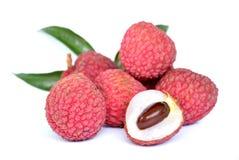 Lychee. Asian fresh fruit Royalty Free Stock Photo