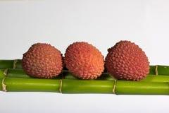 Lychee Früchte stockfotos