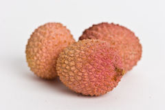 Lychee fruits Royalty Free Stock Photos