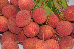 Lychee fruits Stock Photography