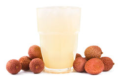 Lychee juice Royalty Free Stock Photography
