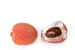 Lychee (Litchi chinensis) stock images