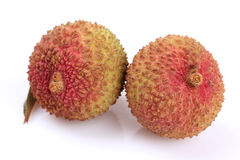 The lychee (Litchi chinensis) fruit Royalty Free Stock Photography