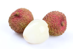 The lychee (Litchi chinensis) fruit Stock Photo