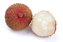 The lychee (Litchi chinensis) fruit Royalty Free Stock Images