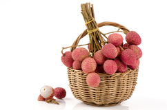 Lychee, Litchi (Litchi chinensis Sonn.) Stock Photos