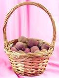 lychees корзины Стоковое Изображение RF