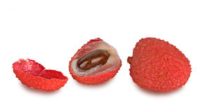 Lychees Stock Image