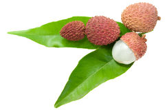 Lychees Royalty Free Stock Photo