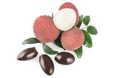 Lychees Stock Photos