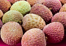 Lychees Fotografia de Stock Royalty Free