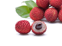 Lychees fraîches Image stock