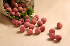 lychees Stock Photography