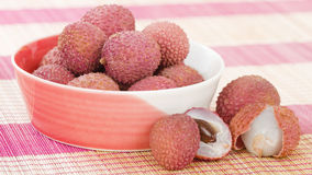 Lychees Stock Photo