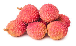 Lychees fruits isolated Royalty Free Stock Photography