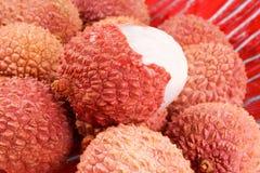 lychees litchis Стоковые Фотографии RF