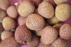 Lychees owoc Obraz Stock