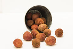 Lychees. Stock Image