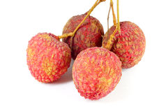 Lychees Thai fruit . Royalty Free Stock Photo