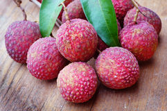 Lychees Thai fruit . Stock Photography