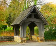 Lychgate Royalty Free Stock Image