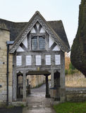 Lychgate, Painswick Stockfotos