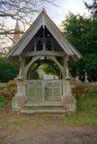 Lychgate, St Stephens kościół, Hammerwood, Sussex, UK zdjęcie royalty free