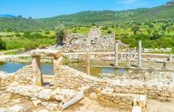 Lycian city ruins Royalty Free Stock Photography