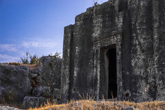 Lycian-Grab in Kas, die Türkei Lizenzfreie Stockbilder