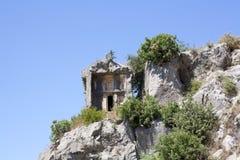 lycian grobowiec Zdjęcie Royalty Free