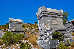 lycian grobowiec Fotografia Stock