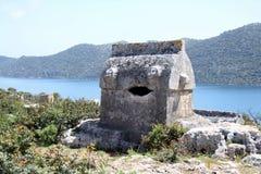 lycian grobowiec Zdjęcia Royalty Free