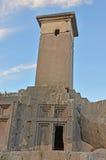 Lycian Pillar Tomb Royalty Free Stock Photography