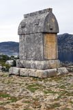 Lycian Rock Tomb Royalty Free Stock Photos