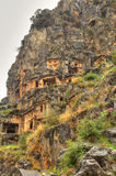 Lycian Rock Tomb, HDR photography Royalty Free Stock Photo
