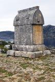 lycian rockowy grobowiec Zdjęcia Royalty Free