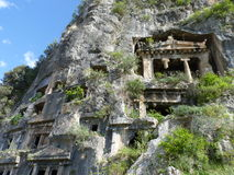 Lycian ruins in Turkey Stock Photography