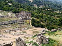 Lycian site of Tlos royalty free stock image