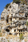 Lycian tombs. Stock Images