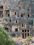Lycian vaggar gravar Royaltyfria Bilder