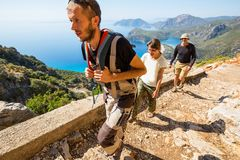 Lycian way Royalty Free Stock Image