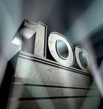 lyckönskan 100 Arkivfoton