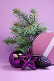 Lyckönskan med jul och nytt år fotografering för bildbyråer