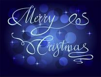 Lyckönskan på den kommande ferien av jul arkivbild