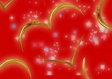 lyckönsknings- förälskelse för kort vektor illustrationer