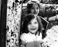 Lycka av de fattiga barnen Royaltyfri Bild