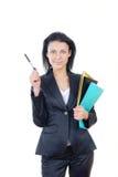 lyckad affärskvinna arkivbild