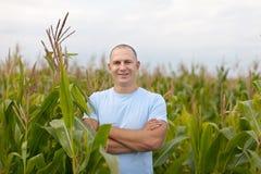 lyckad agriculturist royaltyfria bilder