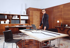 Lyckad arkitekt Royaltyfri Foto